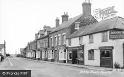 Ashby Road c.1955, Spilsby