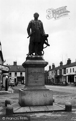 Franklin Memorial c.1955, Spilsby