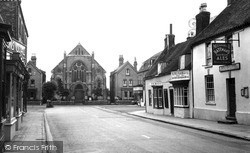 Market Street And Methodist Chapel 1957, Spilsby