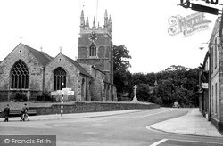 St James Church c.1955, Spilsby