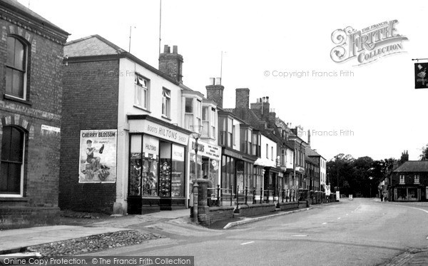 Spilsby, The Terrace c.1955
