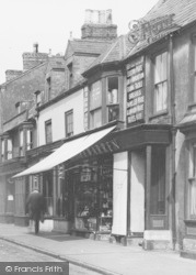 Warren Hardware Store, High Street c.1955, Spilsby
