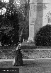 A Lady By A Tree 1892, Springfield