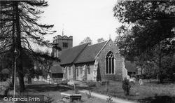 All Saints Church c.1960, Springfield