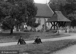 All Saints' Church Lychgate 1906, Springfield