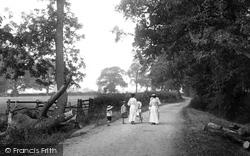 Strolling Along Lawn Lane 1906, Springfield