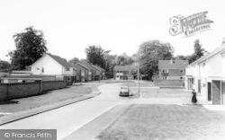 Church Close c.1965, Sproughton
