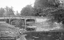 Sproughton, The Bridge 1955