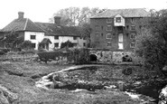 Sproughton, the Mill and Mill House c1955