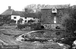 The Mill And Mill House c.1955, Sproughton