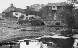 Sproughton, The Mill And Mill House c.1955
