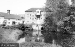 Sproughton, The Mill Stream c.1965