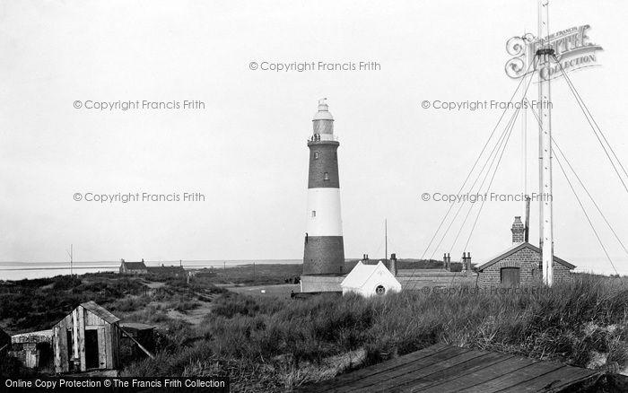 Photo of Spurn Head, Lighthouse 1899