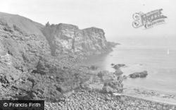 St Abbs, Coldingham From St Abbs c.1935