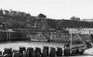 St Abbs, Harbourside c.1955