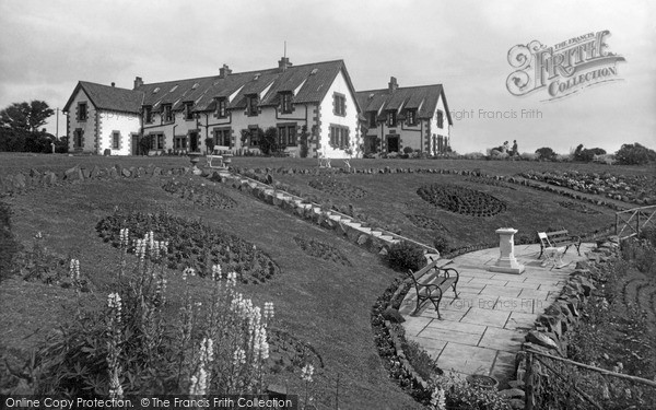 Photo of St Abbs, Haven and Rock Garden c1935, ref. s416040