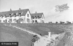 St Abbs, Haven Hotel And Memorial c.1935
