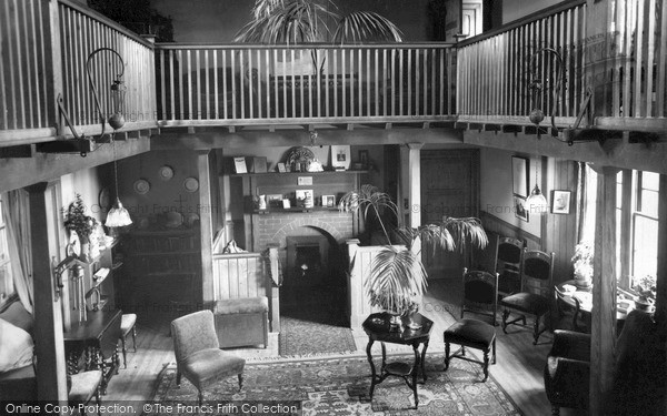 Photo of St Abbs, Haven, the Lounge c1935, ref. s416008