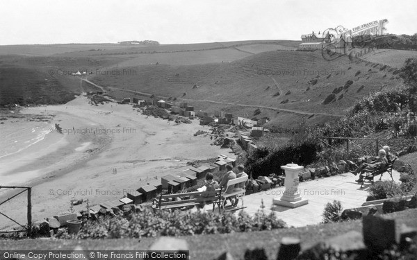 Photo of St Abbs, Haven, the Terrace c1935, ref. s416020