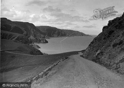 St Abbs, Head, Lighthouse Road c.1935