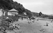 St Abbs, Sands Bay c.1935