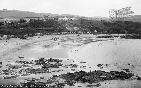Photo of St Abbs, Sands Bay From South c.1935