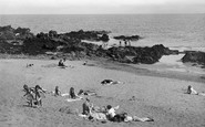 St Abbs, Sun Corner, Sands Bay c.1935