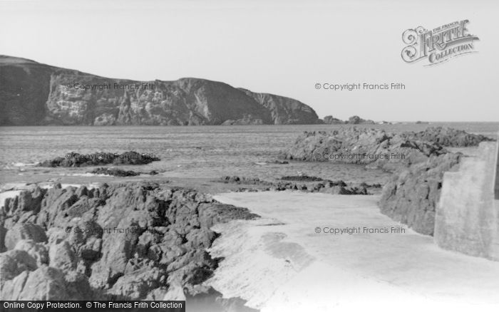 Photo of St Abbs, The Cliffs c.1935
