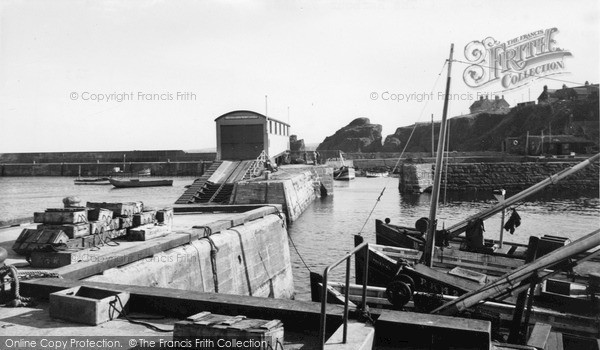 Photo of St Abbs, the Harbour c1955, ref. s416012