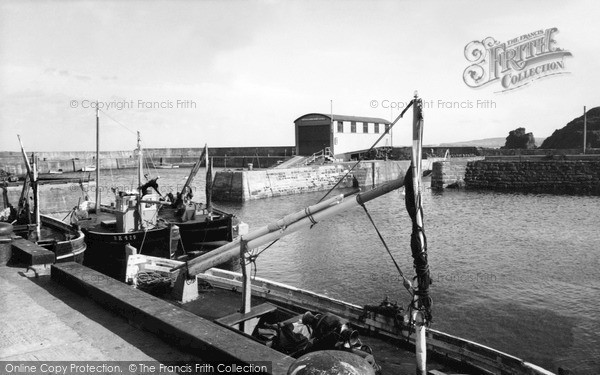 St Abbs, The Harbour c.1955