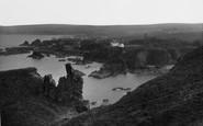 St Abbs, The Haugh Pinnacle c.1935