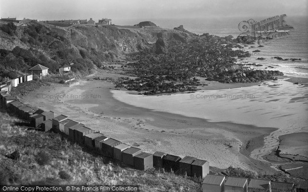 Photo of St Abbs, the Rocky Headland c1935, ref. s416019