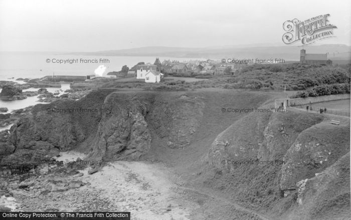 Photo of St Abbs, The Village c.1935