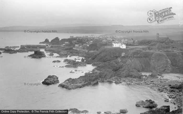 Photo of St Abbs, View From Heugh c.1935