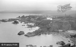 St Abbs, View From Heugh c.1935
