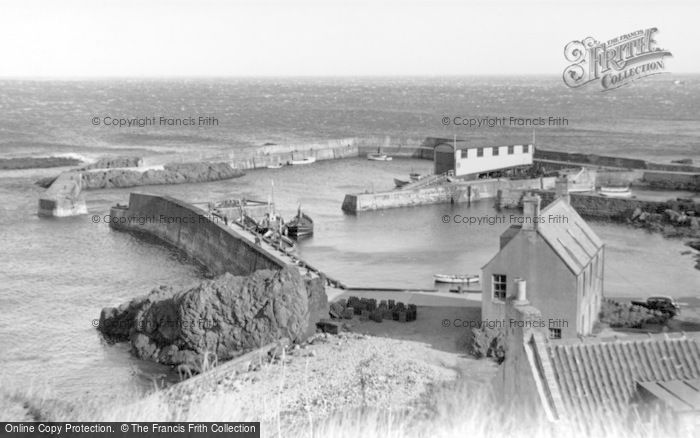 Photo of St Abbs, View Of The Harbour c.1935