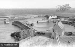 St Abbs, View Of The Harbour c.1935
