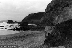 St Agnes, Beach And Cafe c.1955