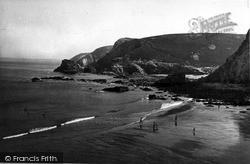 St Agnes, Beach c.1955