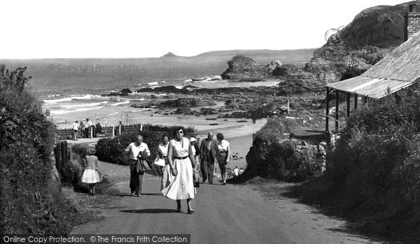 Photo of St Agnes, Beach Road c.1955