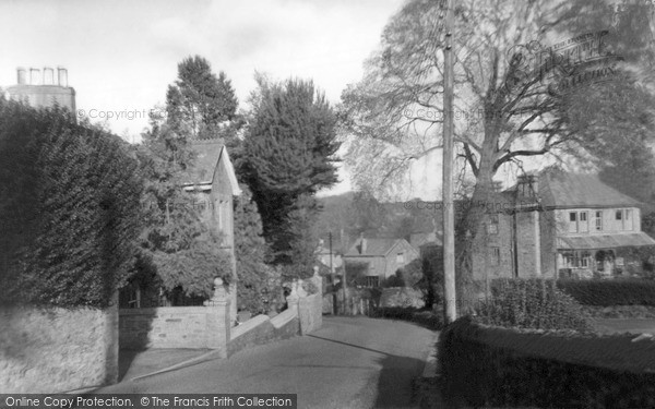 Photo of St Agnes, British Road c.1955