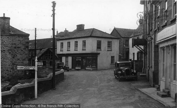 Photo of St Agnes, Church Town c.1955