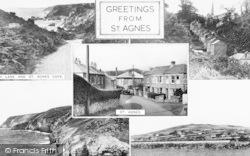 St Agnes, Composite c.1955