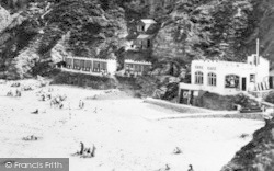 St Agnes, Cove Cafe Beside The Beach c.1960