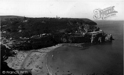 St Agnes, From Trevellas Cliffs c.1960