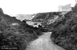 St Agnes, Rocky Lane And St Agnes Cove c.1955