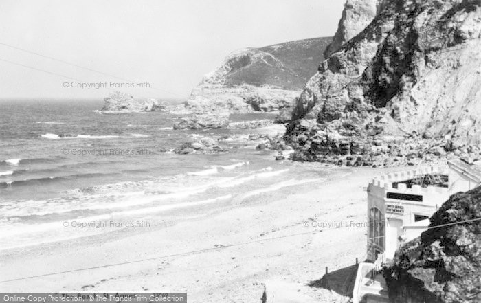 Photo of St Agnes, The Beach c.1960