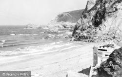 St Agnes, The Beach c.1960