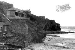 St Agnes, The Cliff Shelter c.1955