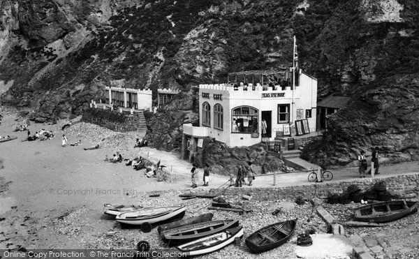Photo of St Agnes, The Cove Cafe c.1960